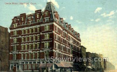 Garde Hotel - Hartford, Connecticut CT Postcard