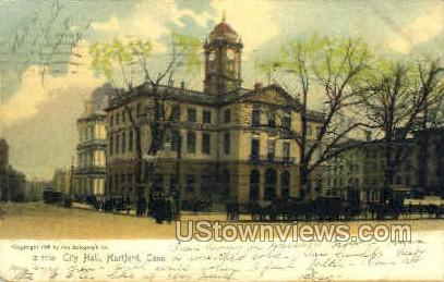 City Hall - Hartford, Connecticut CT Postcard