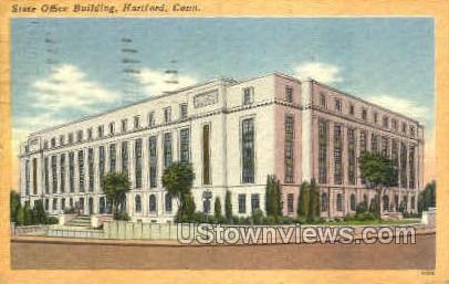 State Office Building - Hartford, Connecticut CT Postcard