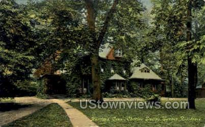 Charles Dudley Warner Residence - Hartford, Connecticut CT Postcard