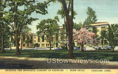 National Fire Insurance Co - Hartford, Connecticut CT Postcard