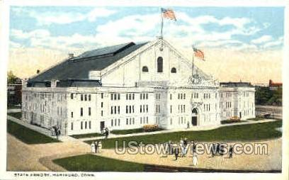 State Armory - Hartford, Connecticut CT Postcard