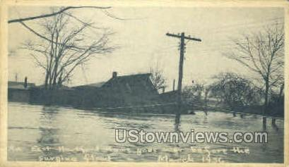 Flood - Hartford, Connecticut CT Postcard