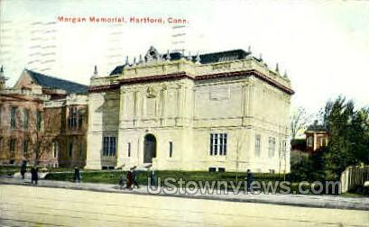Morgan Memorial  - Hartford, Connecticut CT Postcard