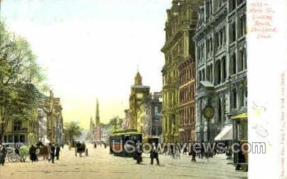 Main Street - Hartford, Connecticut CT Postcard