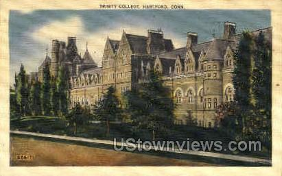 Trinity College - Hartford, Connecticut CT Postcard