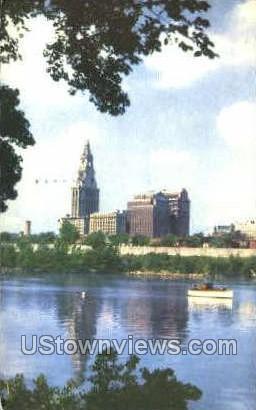 Connecticut River - Hartford Postcard