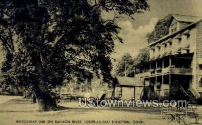 Bridgeway Inn - Leesville-East Hampton, Connecticut CT Postcard