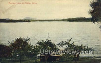 Bantam Lake - Litchfield, Connecticut CT Postcard