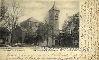 Methodist Church - Middletown, Connecticut CT Postcard