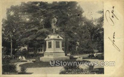 Soldiers' Monument - Middletown, Connecticut CT Postcard