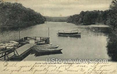 Crystal Lake - Middletown, Connecticut CT Postcard
