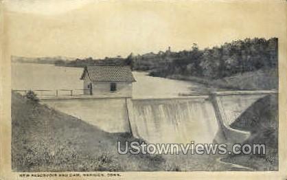 New Reservoir - Meriden, Connecticut CT Postcard