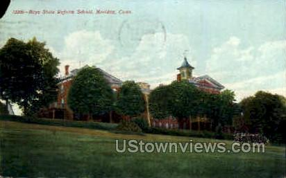 Boys State Reform School - Meriden, Connecticut CT Postcard