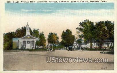 Winthrop Terrace - Meriden, Connecticut CT Postcard