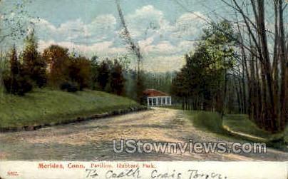 Hubbard Park - Meriden, Connecticut CT Postcard