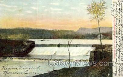 Hanover Pond - Meriden, Connecticut CT Postcard