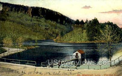 Merrimerr Lake - Meriden, Connecticut CT Postcard