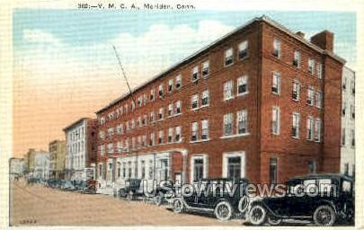 Y. M. C. A. - Meriden, Connecticut CT Postcard