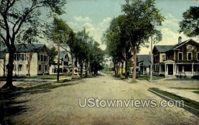 Elm St. - Meriden, Connecticut CT Postcard