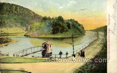 Lake Merrimere - Meriden, Connecticut CT Postcard