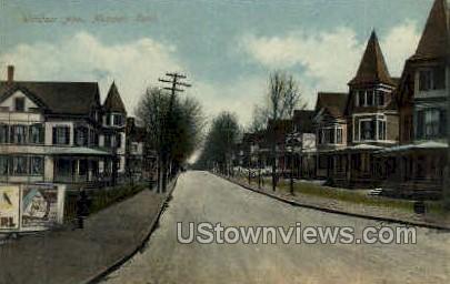 Windsor Ave. - Meriden, Connecticut CT Postcard