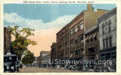 North Colony - Meriden, Connecticut CT Postcard