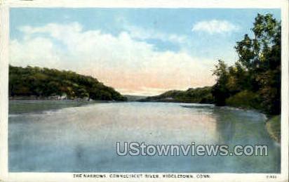 Connecticut River - Middletown Postcard