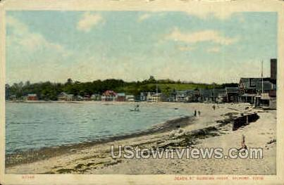 Merwins Point - Milford, Connecticut CT Postcard