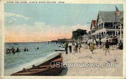 Myrtle Beach - Milford, Connecticut CT Postcard