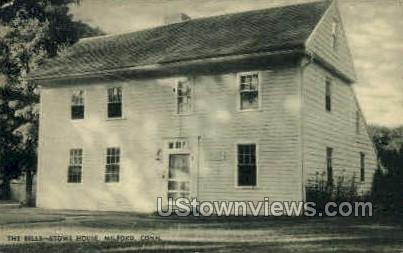The Eells-Stowe House - Milford, Connecticut CT Postcard