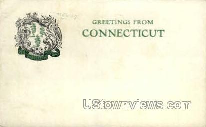 Misc, CT, Conn, Connecticut Postcard