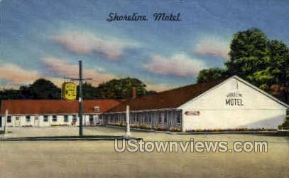 Shoreline Motel - Milford, Connecticut CT Postcard