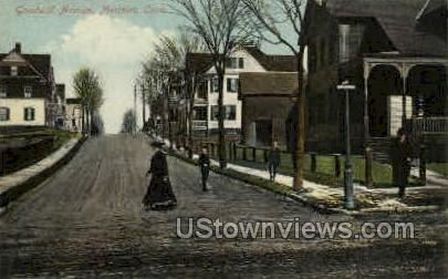 Goodwill Ave. - Meriden, Connecticut CT Postcard