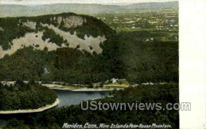 Mine Island - Meriden, Connecticut CT Postcard