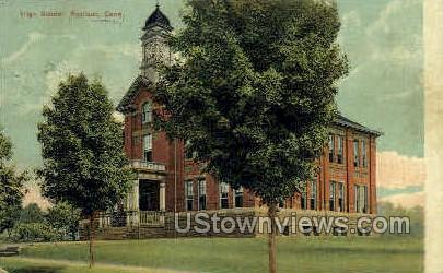 High School - Middletown, Connecticut CT Postcard