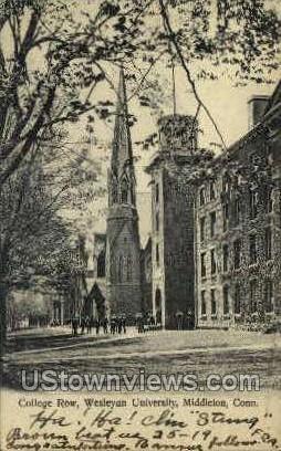 Wesleyan University - Middletown, Connecticut CT Postcard