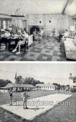 Shadybrook Hotel - Moodus, Connecticut CT Postcard