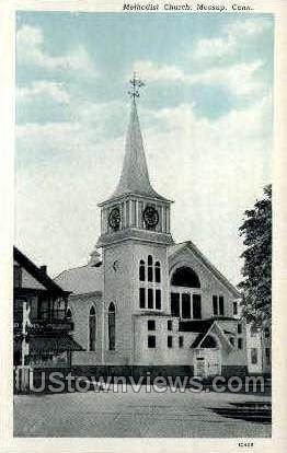 Methodist Church - Meriden, Connecticut CT Postcard