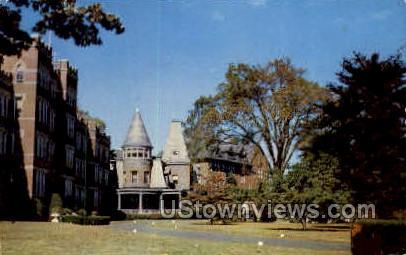 Academy of Our Lady of Mercy - Milford, Connecticut CT Postcard