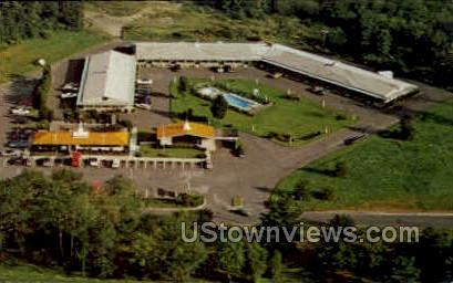 Howard Johnson's Motor Lodge - Milford, Connecticut CT Postcard