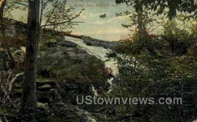 Bashan Dam - Moodus, Connecticut CT Postcard
