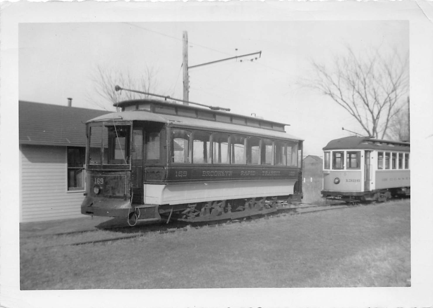 Trolley - Misc, Connecticut CT Postcard