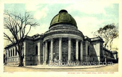Woolsey Hall - New Haven, Connecticut CT Postcard