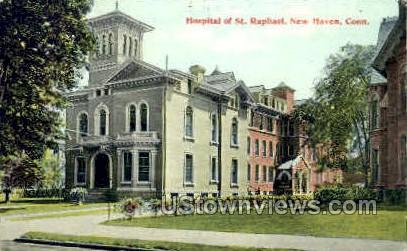 Hospital of St. Raphael - New Haven, Connecticut CT Postcard