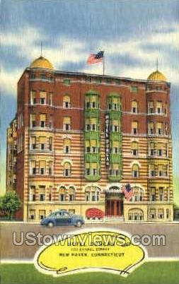 Hotel Duncan - New Haven, Connecticut CT Postcard
