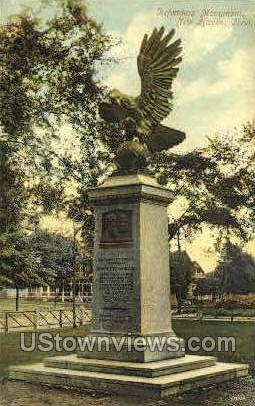 Defenders' Monument - New Haven, Connecticut CT Postcard