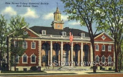 New Haven Historical Society - Connecticut CT Postcard