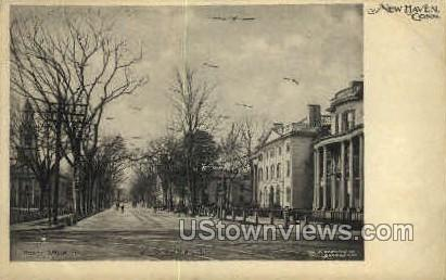 North Chruch - New Haven, Connecticut CT Postcard