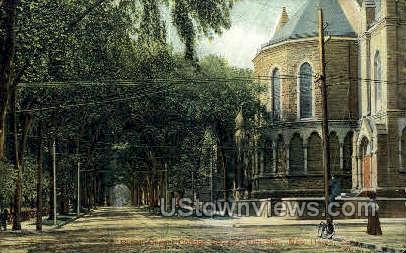Battell Chapel - New Haven, Connecticut CT Postcard
